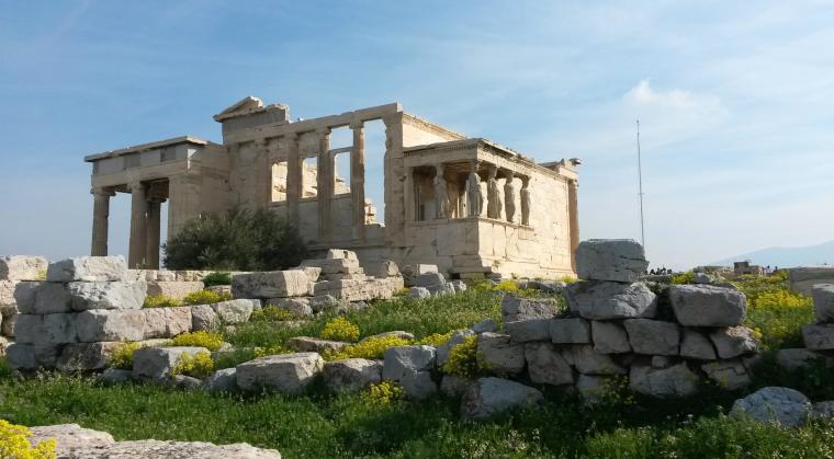Erechtheion-templet på Akropolis